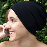 MS308-L エコロガ高周波電磁波シールドニット帽子Lサイズ