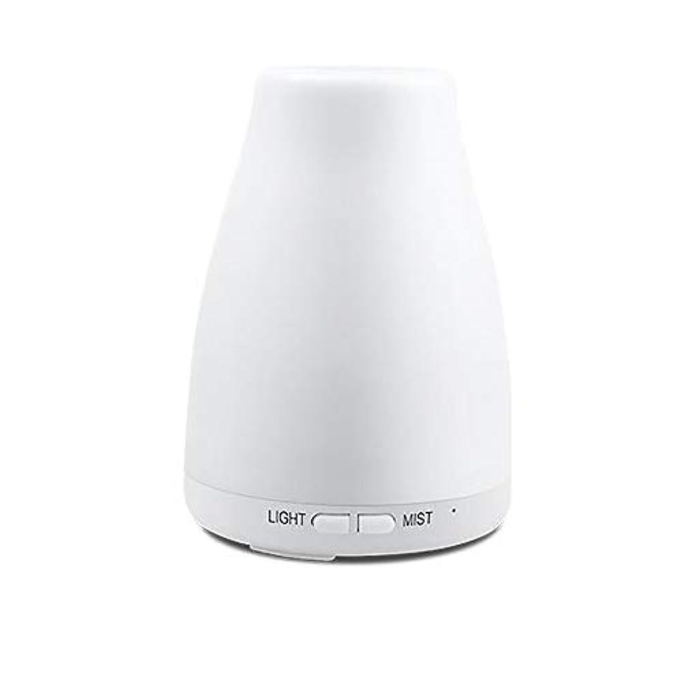 熟練した去る霧深い精油ディフューザー、アロマ精油クールミスト加湿器付き調節可能なミストモード7色ledライト用ホームオフィスの寝室の部屋