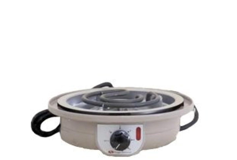 安心アトラス野球コンロ ファンジン 電気コンロ よもぎ蒸し 温度調節機能付き