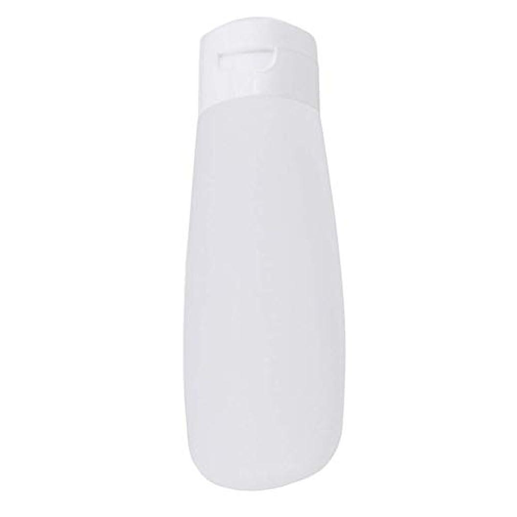 ペリスコープ副産物小道具1st market 耐久性のある100ミリリットルポータブルクラムシェルスクイーズボトル化粧品ボトル洗顔旅行シャンプーローション空のボトル