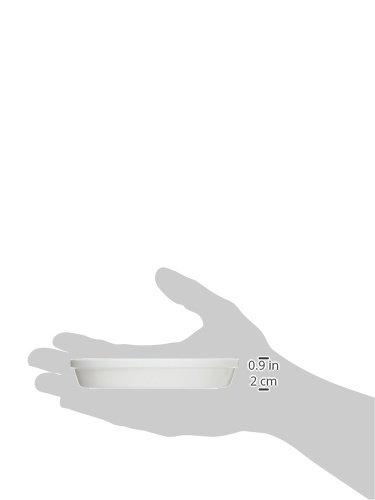 リッチェル 浅皿 4号 ホワイト(W)