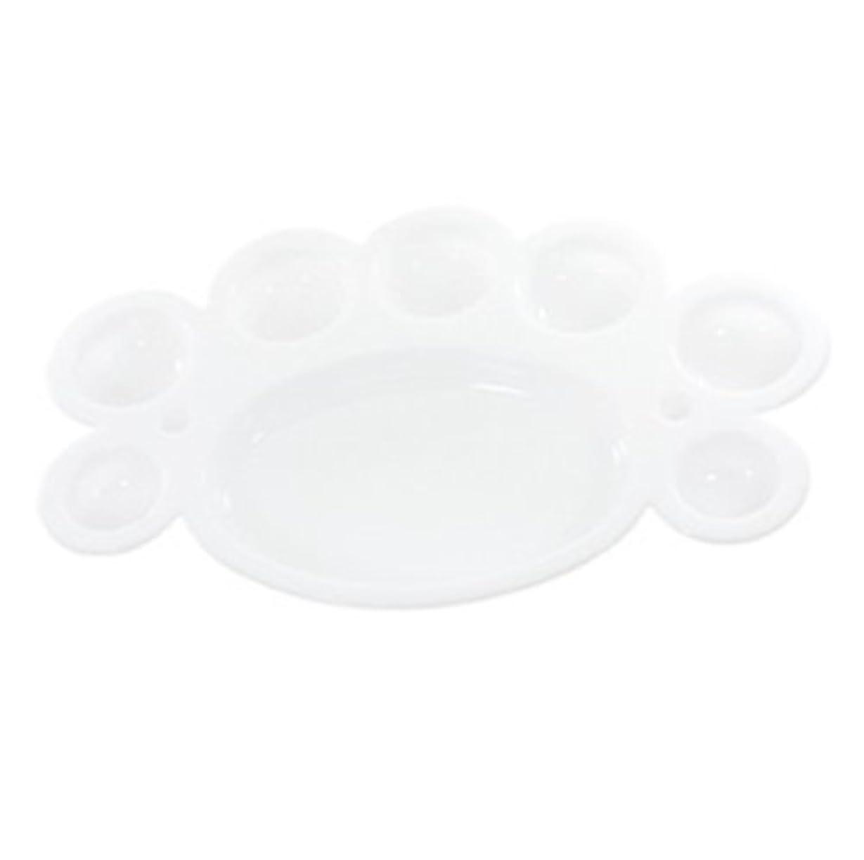 抜粋照らすバスルームジェルネイル パレット カラーの調合グリッターを混ぜるのに便利?