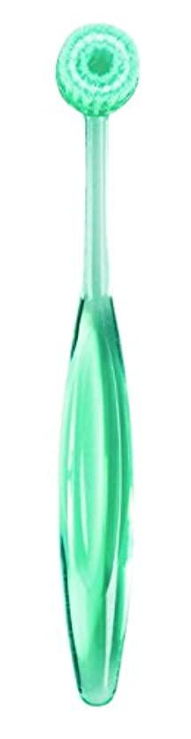 階下ミンチビデオOral Doctorオーラルドクター 口腔清掃多目的ブラシ (グリーン)