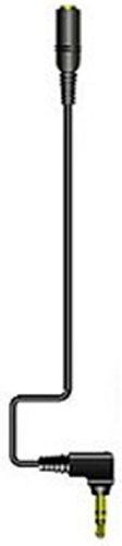 JVCケンウッド ビクター DAP用延長コードL型ステレオミニプラグ-ステレオミニジャック 0.7m ブラック CN-L70-B