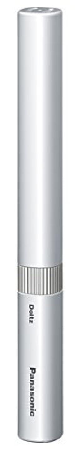 動物代数的ペンフレンドパナソニック 電動歯ブラシ ポケットドルツ シルバー EW-DS1B-S