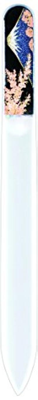 白い快い許可橋本漆芸 ブラジェク製高級爪ヤスリ 富士に桜 OPP