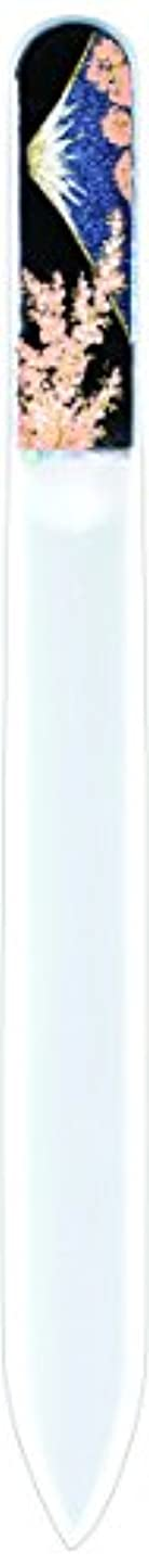 オペラ罪悪感消毒剤橋本漆芸 ブラジェク製高級爪ヤスリ 富士に桜 OPP