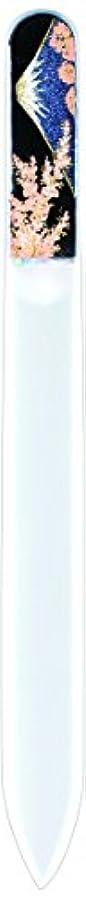 微妙フェンスマネージャー橋本漆芸 ブラジェク製高級爪ヤスリ 富士に桜 OPP
