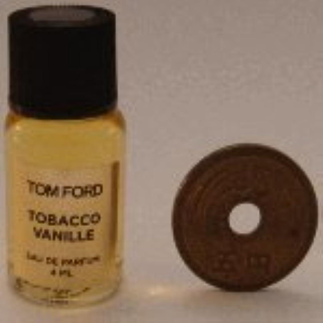 リズミカルなテレビ局領収書Tom Ford Private Blend 'Tobacco Vanille' (トムフォード プライベートブレンド タバコバニラ) 4ml EDP ミニボトル (手詰めサンプル)
