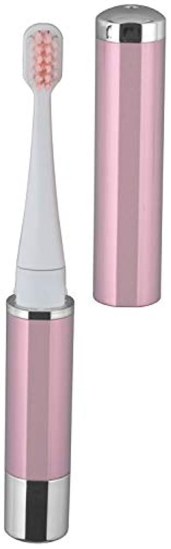 スポンサー伝統工業用ロゼンスター マイナスイオン 音波振動歯ブラシ ピンク TB-100P