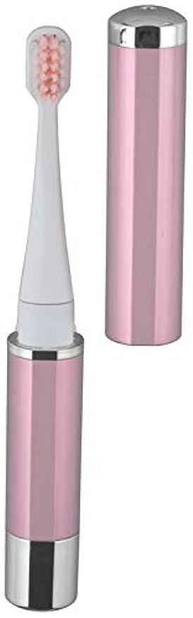 レルム右エンドウロゼンスター マイナスイオン音波振動歯ブラシ ピンク TB-100P