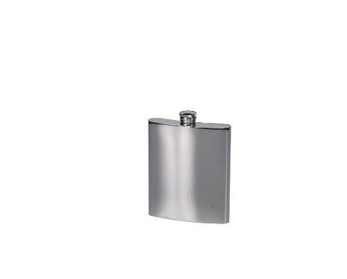ステンレス製ポケットフラスコ角型 0.14L
