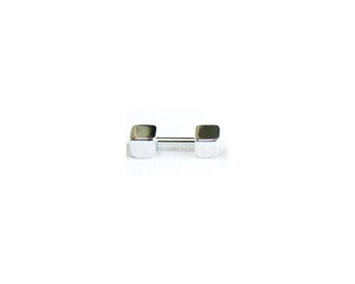 [해외]i.axe18G 간단한 사각형 바벨 바디 피어싱 귀 피어싱 연골 귀걸이/i.axe 18G simple square barbell body earrings ear piercing cartilage earrings