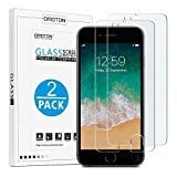 OMOTON 9H Hardness HD Tempered Glass Screen Protector for Apple iPhone 8 Plus/iPhone 7 Plus, 2 Pack