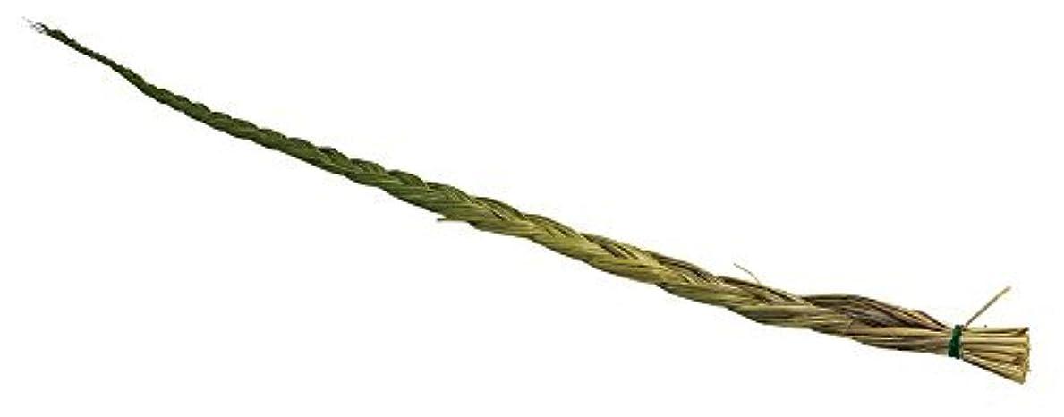 に向かって意義繁栄Sweetgrass Incense Braid XL 60cm