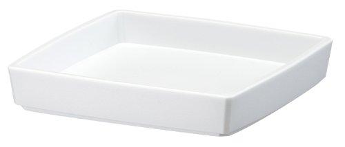 大和プラスチック 鉢・プランター クエンチローポット(プレート付) 6号 140×140×H150 ホワイト
