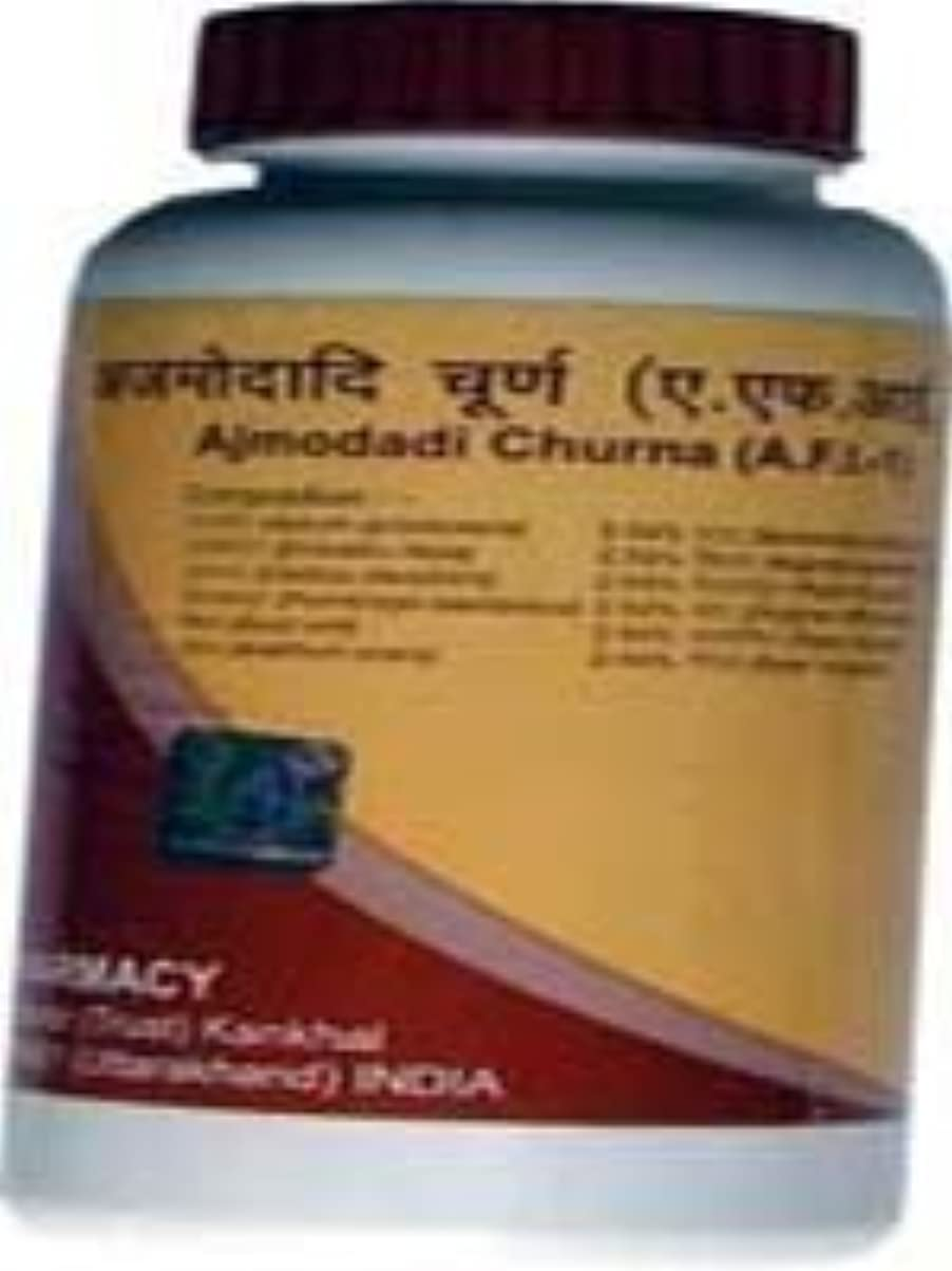 イサカ含める詳細にDivya Ajmodadi Churna (パウダー) 100 gm