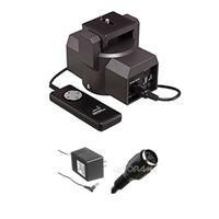 Bescor mp101ビデオ電動式パンヘッド–バンドル–with ACコードF/電動式パンヘッド&電動式パンヘッド20'延長コード