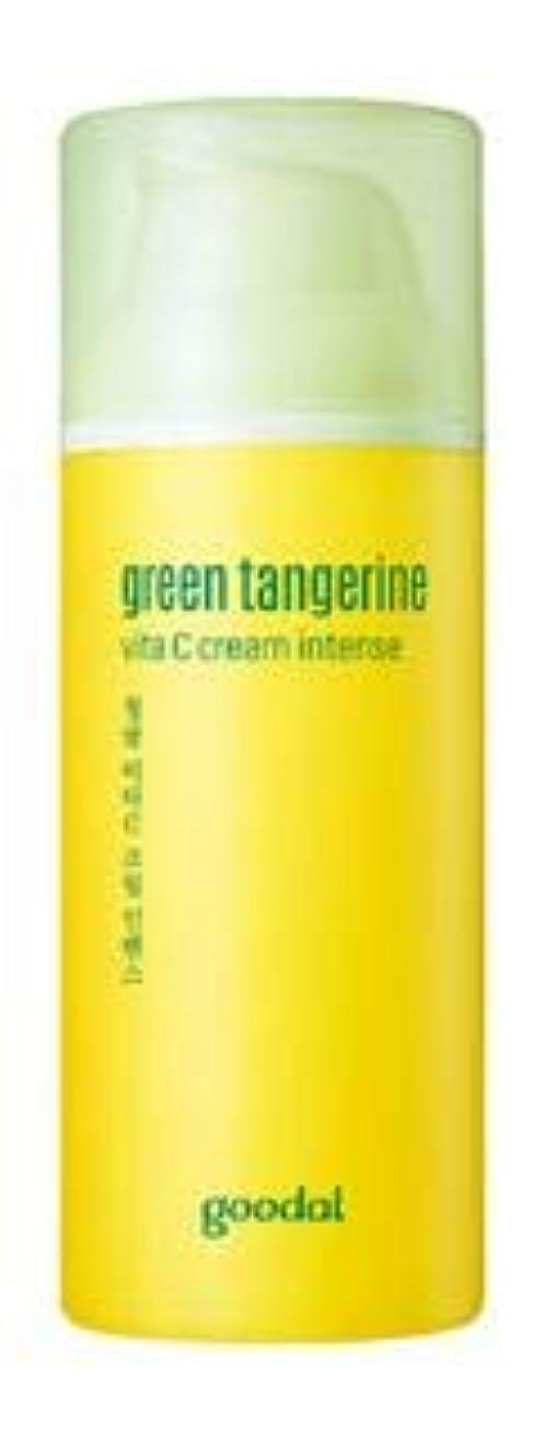 静かに動かない批判する[Goodal] Green Tangerine Vita C cream Intense 50ml /グリーンタンジェリンビタCクリームインテンス50ml [並行輸入品]