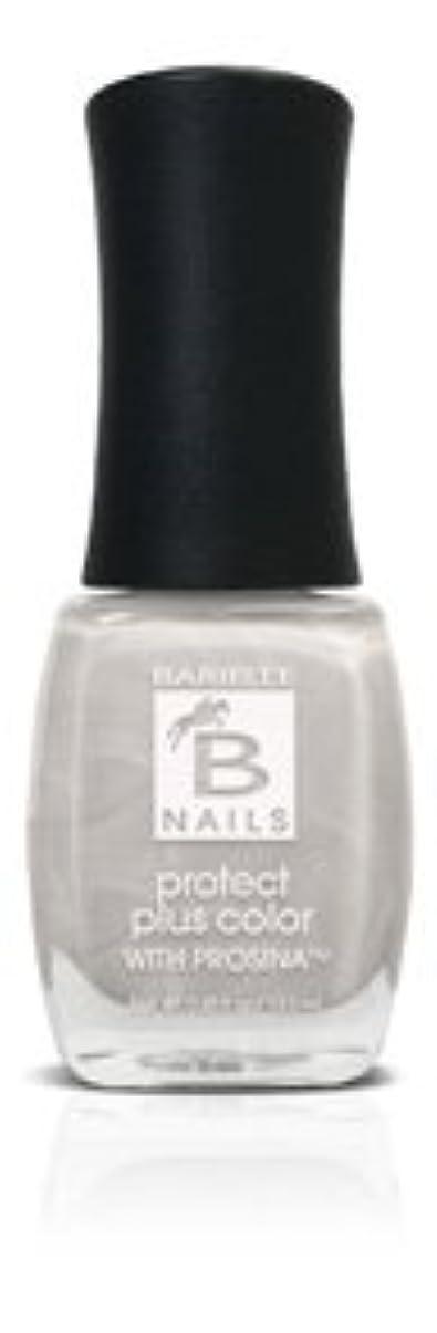 黒板手順スクリューBネイルプロテクト+ネイルカラー(Prosina - Pealry White)