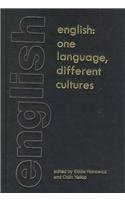 English: One Language, Different Cultures