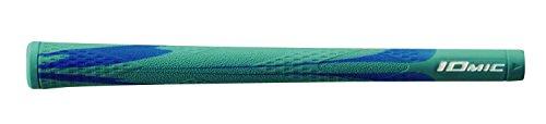 IOMIC(イオミック) ゴルフグリップ X-Grip Opus1 バックライン無 スカイブルー Art Grip Series ベース:スカイブルー×ブルー エンド:スカイブルー M60