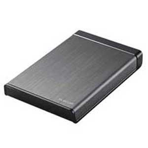エレコム USB3.0対応 ポータブルハードディスク 1.0TB 【WEB限定商品】ELP-XEDUBKシリーズ ELP-XED010UBK