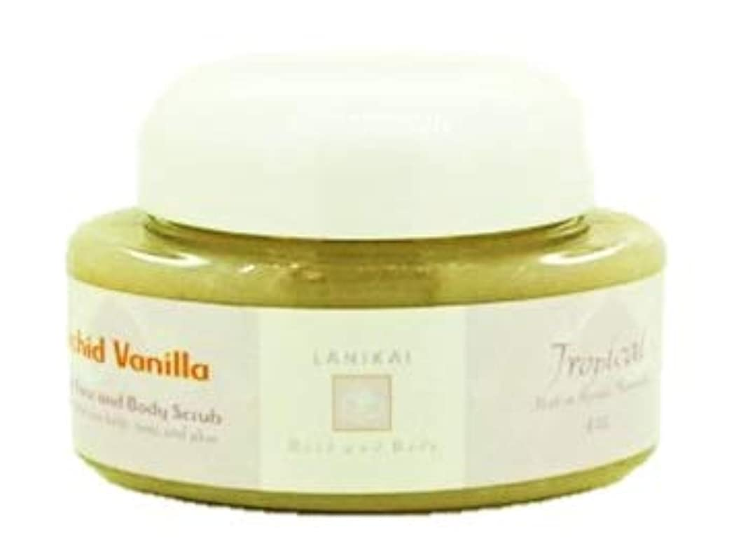 パンサー評価可能絶壁LANIKAI Orchid Vanilla Body Scrub ラニカイ オーキッドバニラ ボディスクラブ 4oz