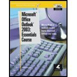 Microsoft Office Outlook 2003: Essentials Course (Microsoft Office 2003 Series)