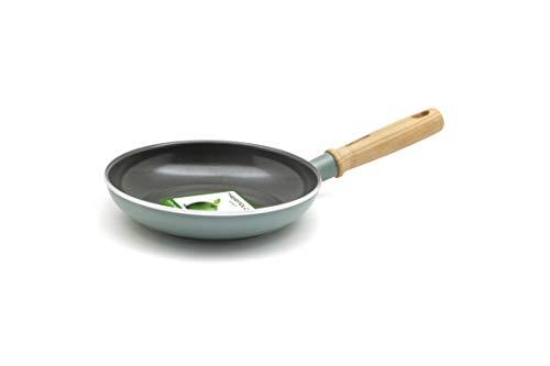 グリーンパン フライパン メイフラワー スモーキースカイブルー 20cm IH対応