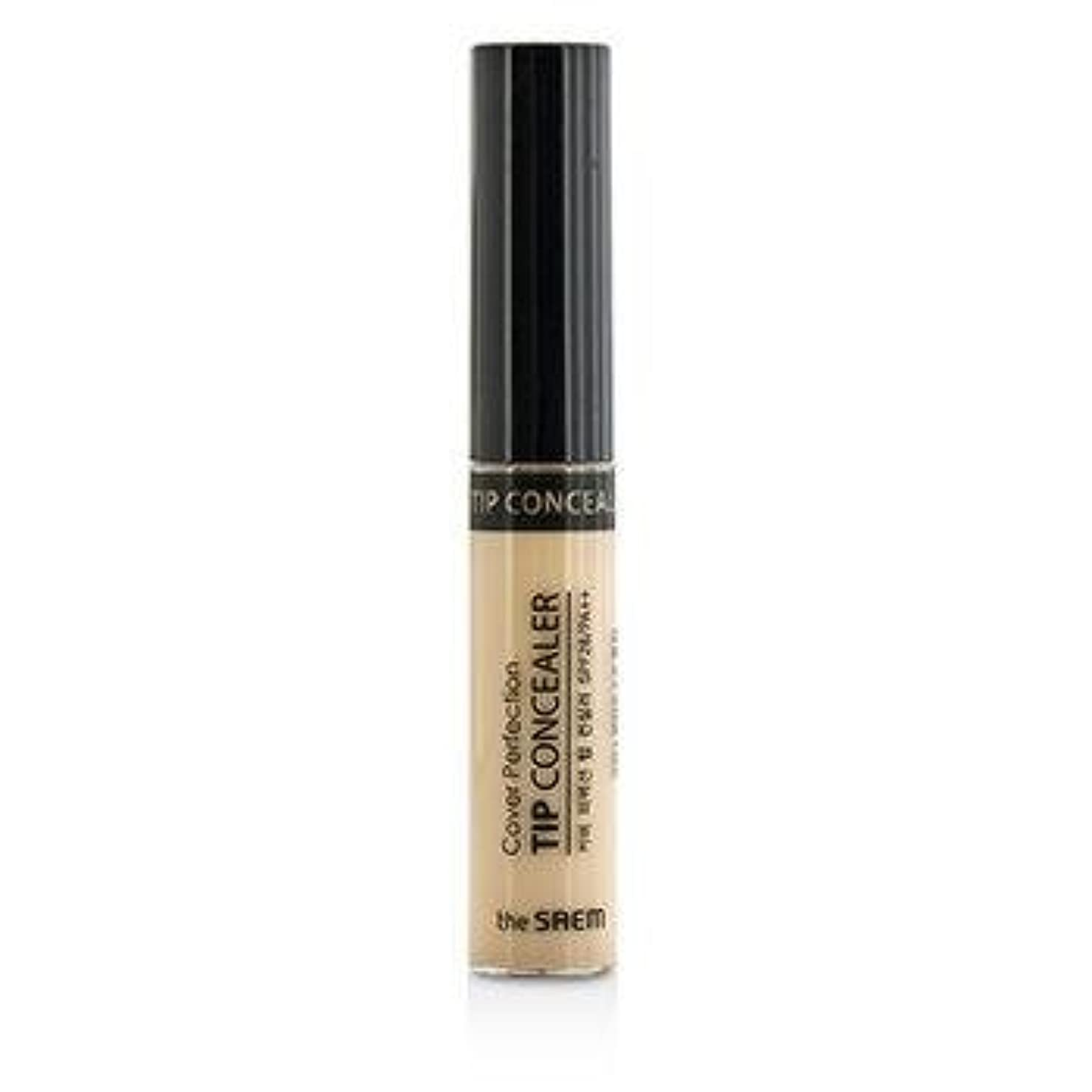 絶望的なデータ常にThe Saem Cover Perfection Tip Concealer SPF28 - #01 Clear Beige 6.8g/0.23oz