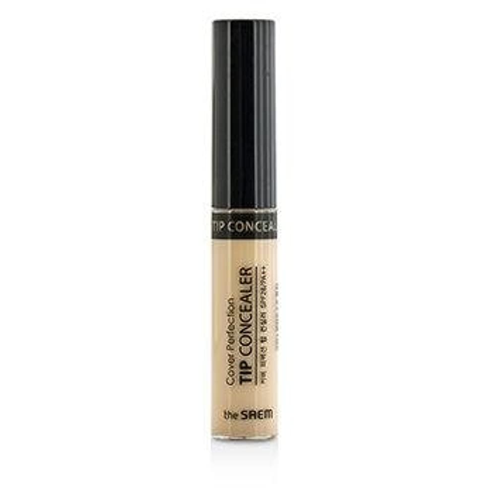 破壊的製油所宿命The Saem Cover Perfection Tip Concealer SPF28 - #01 Clear Beige 6.8g/0.23oz