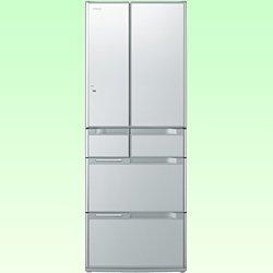 RoomClip商品情報 - 日立 565L 6ドア冷蔵庫(クリスタルシルバー)HITACHI 真空チルドFS R-G5700D-XS