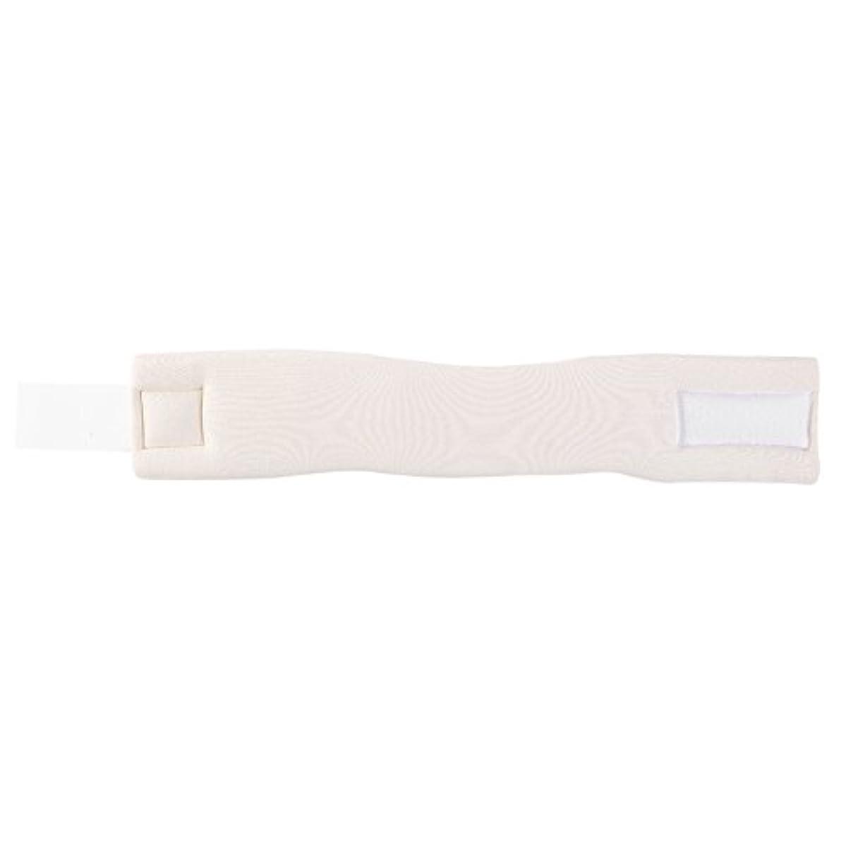 乳白不快な慣らす調整可能なソフトフォームネックブレースサポート転位固定痛み軽減頸部カラー(M)