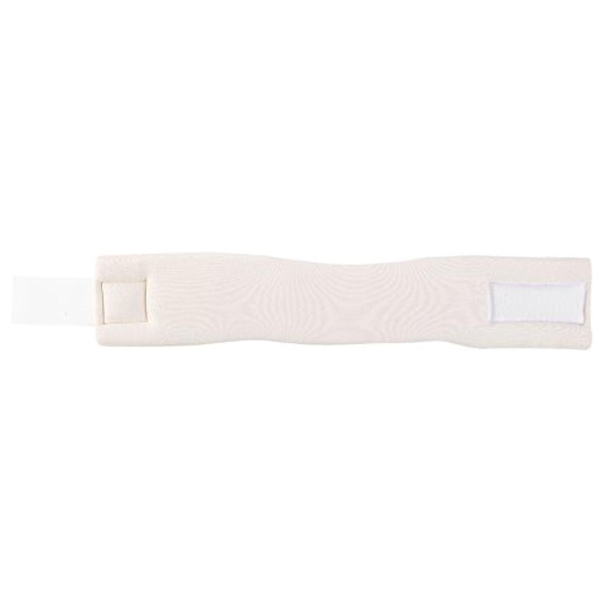 スライムフェンス囲い調整可能なソフトフォームネックブレースサポート転位固定痛み軽減頸部カラー(M)