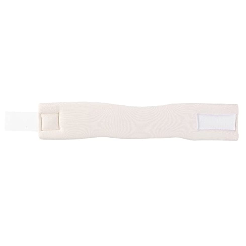 夢チェリーヒューム調整可能なソフトフォームネックブレースサポート転位固定痛み軽減頸部カラー(M)