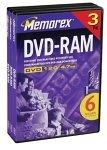 Memorex 4.7GB DVD-RAM (3-Pack) (Discontinued by Manufacturer) [並行輸入品]