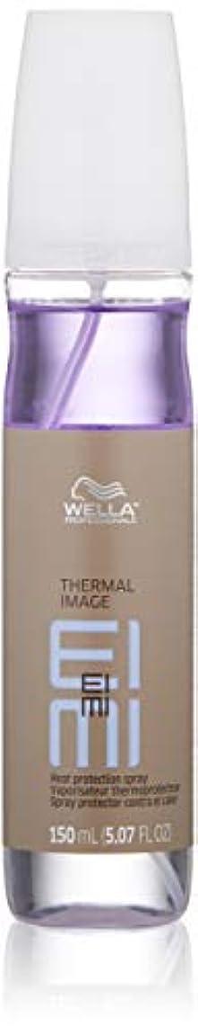 削る仲間コールドWella EIMI熱画像の熱保護は150ミリリットル/ 5.07オンススプレー 5.07オンス