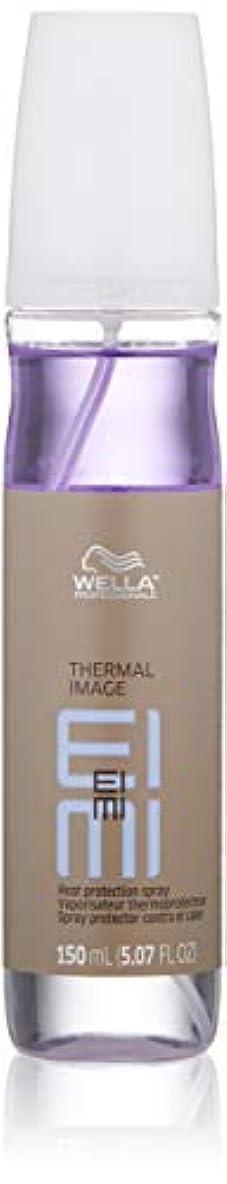 メトリック誓約くさびWella EIMI熱画像の熱保護は150ミリリットル/ 5.07オンススプレー 5.07オンス