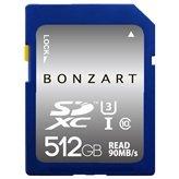 永久保証 BONZART BONZ512GDXC sdカード 512gb SDカード メディア 人気 売れ SDHC Class GB 記録 記憶 sdhc メモリー カメラ カード パソコン ブリスタパッケージ (512G)