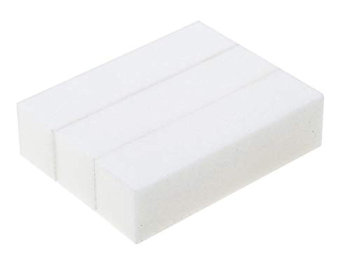 頭痛被害者醜い3スポンジ/サンディングブロックマニキュアペディキュアプロフェッショナル高品質ポンスホワイトストーンのセット