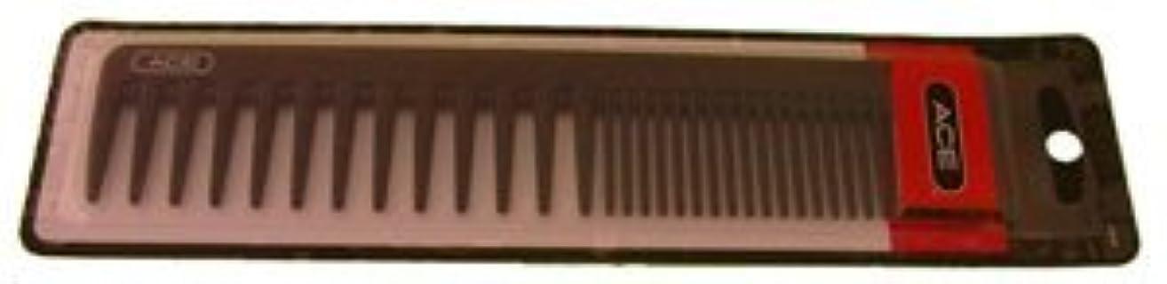 区動脈中断Ace Bi-function Comb * Coarse Teeth & Regular Teeth * Black [並行輸入品]