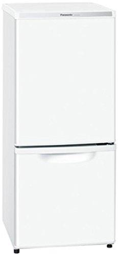 パナソニック 2ドア冷蔵庫(138L) NR-B145W-W ホワイト