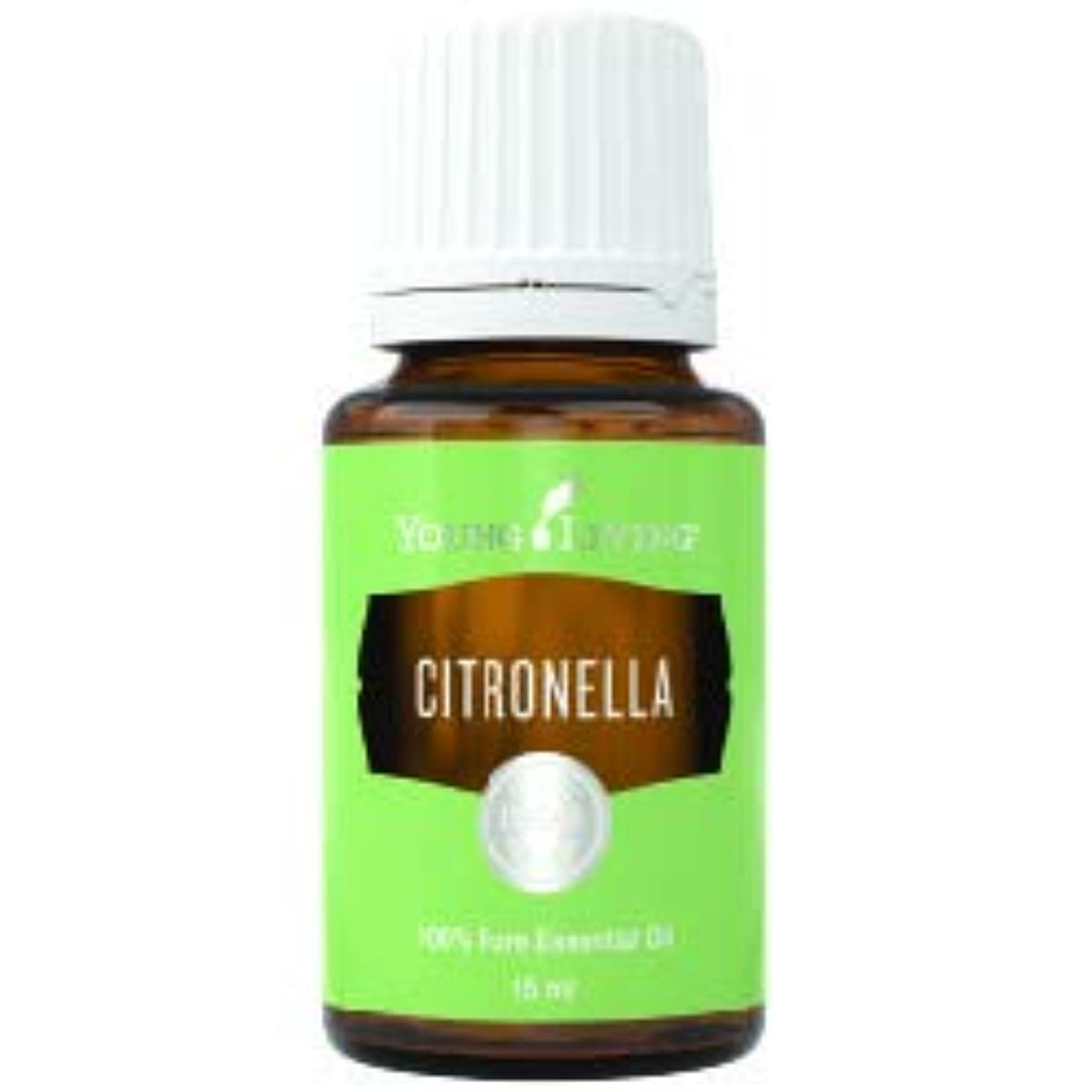 かんがい麺九時四十五分シトロネラエッセンシャルオイル15 ml byヤングリビングマレーシア Citronella Essential Oil 15 ml by Young Living Malaysia