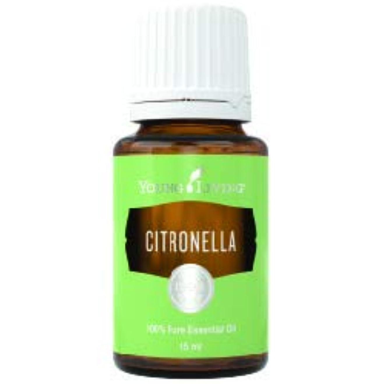 抹消暖かく線形シトロネラエッセンシャルオイル15 ml byヤングリビングマレーシア Citronella Essential Oil 15 ml by Young Living Malaysia