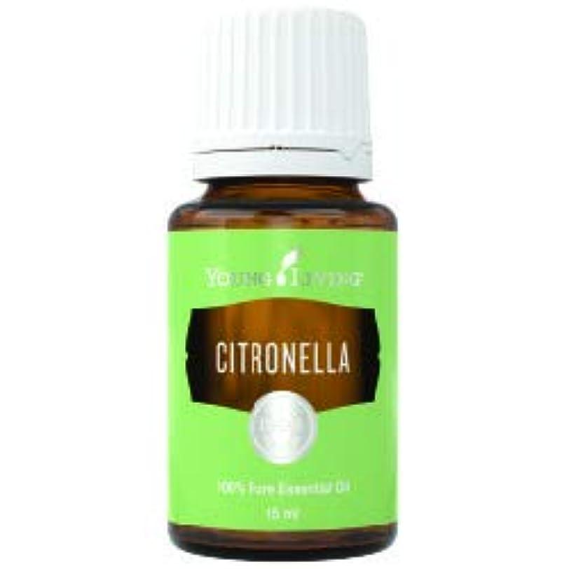 よろめく一般的な閉塞シトロネラエッセンシャルオイル15 ml byヤングリビングマレーシア Citronella Essential Oil 15 ml by Young Living Malaysia