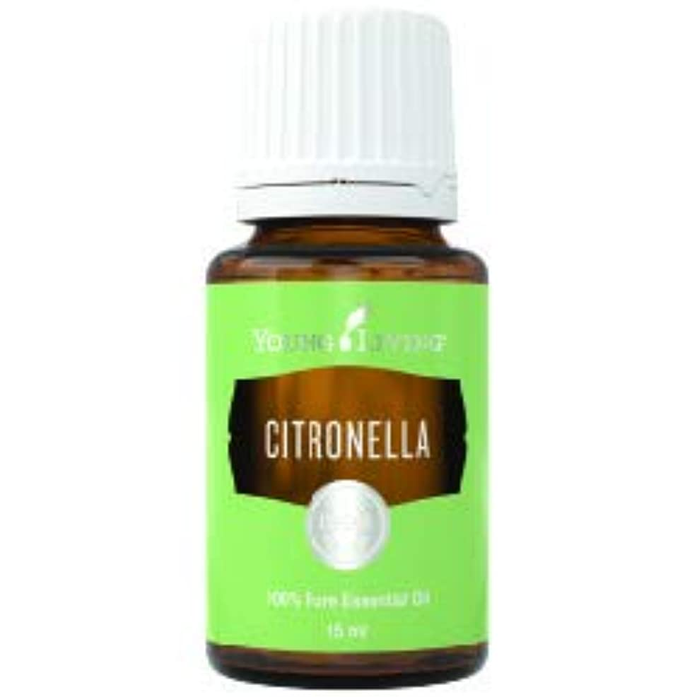ステップホステス確かなシトロネラエッセンシャルオイル15 ml byヤングリビングマレーシア Citronella Essential Oil 15 ml by Young Living Malaysia