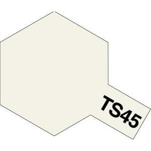 タミヤ スプレー No.45 TS-45 パールホワイト 85045