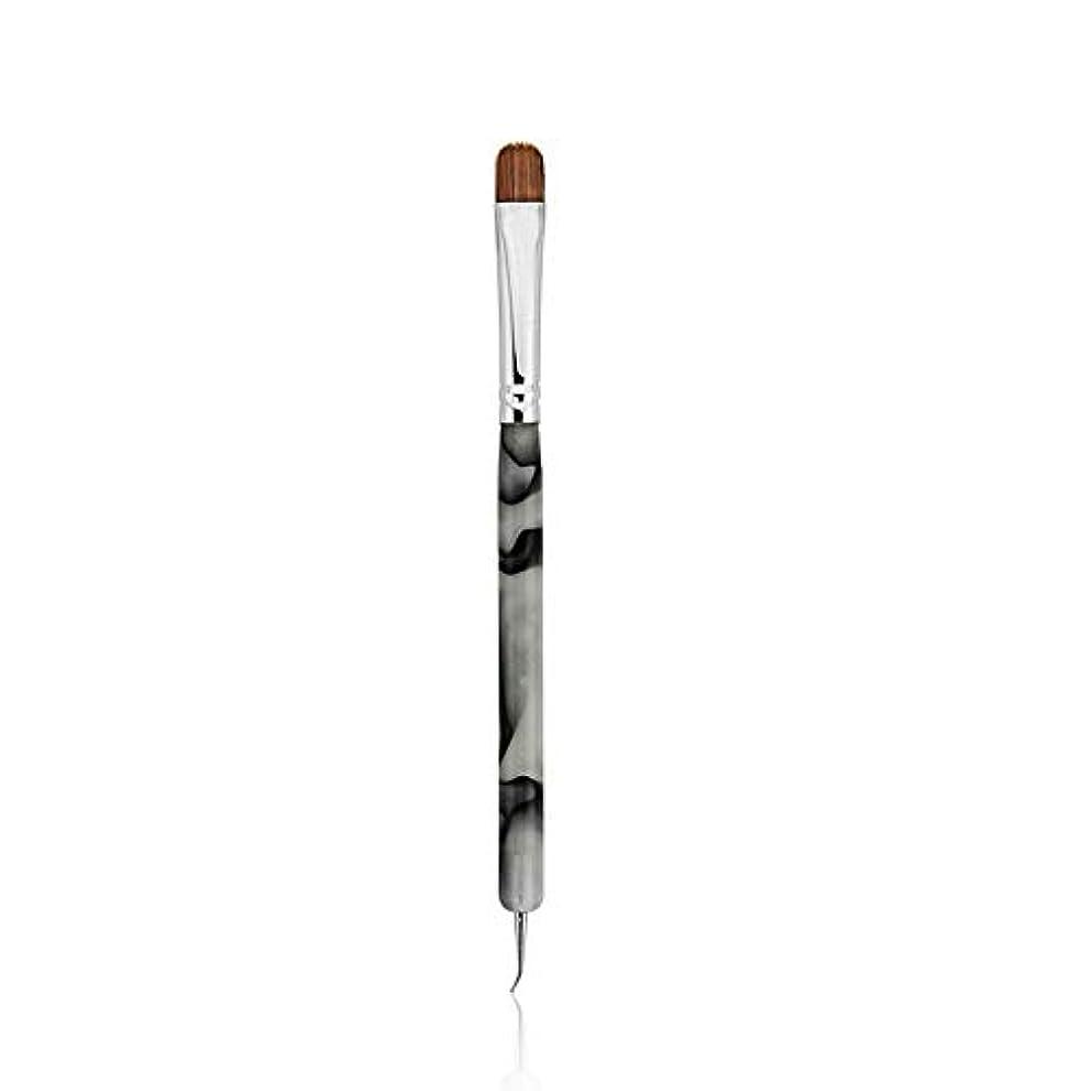 妊娠した怠感先行するKADS コリンスキー製 ジェルネイルブラシ /ネイルドットペン 2way用 フレンチラインブラシ アクリルネイル用ブラシ ネイルアート専用ツール(1個/セット)