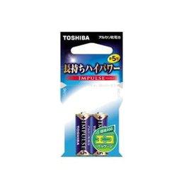 東芝 アルカリ電池単5形2本(エコパック) LR1H 2EC
